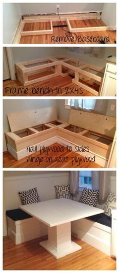 Diy Home Bench Seat 34 - 40+ Extraordinary DIY Home Bench Seat