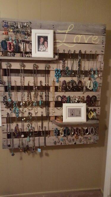 Diy Jewelry Organizers 1 - The 40+ Best DIY Jewelry Organizers