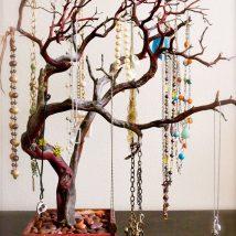 Diy Jewelry Organizers 11 214x214 - The 40+ Best DIY Jewelry Organizers