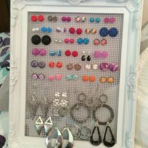 Diy Jewelry Organizers 12 214x214 - The 40+ Best DIY Jewelry Organizers