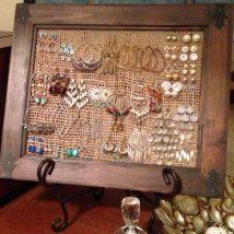 Diy Jewelry Organizers 13 214x214 - The 40+ Best DIY Jewelry Organizers