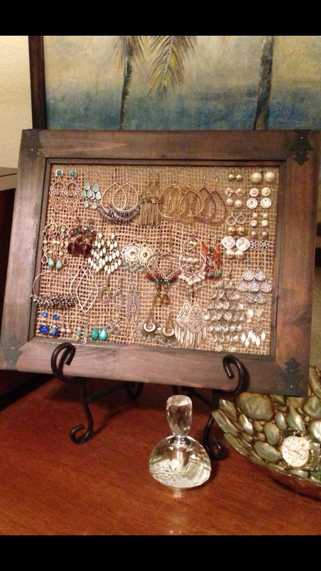 Diy Jewelry Organizers 13 - The 40+ Best DIY Jewelry Organizers