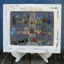 Diy Jewelry Organizers 14 214x214 - The 40+ Best DIY Jewelry Organizers