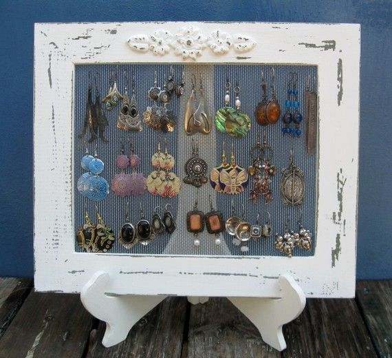 Diy Jewelry Organizers 14 - The 40+ Best DIY Jewelry Organizers