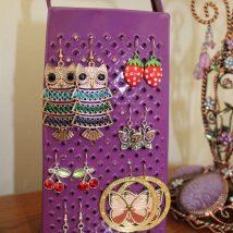 Diy Jewelry Organizers 15 214x214 - The 40+ Best DIY Jewelry Organizers