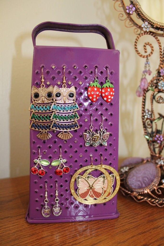Diy Jewelry Organizers 15 - The 40+ Best DIY Jewelry Organizers