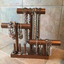 Diy Jewelry Organizers 19 214x214 - The 40+ Best DIY Jewelry Organizers