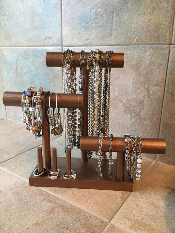 Diy Jewelry Organizers 19 - The 40+ Best DIY Jewelry Organizers