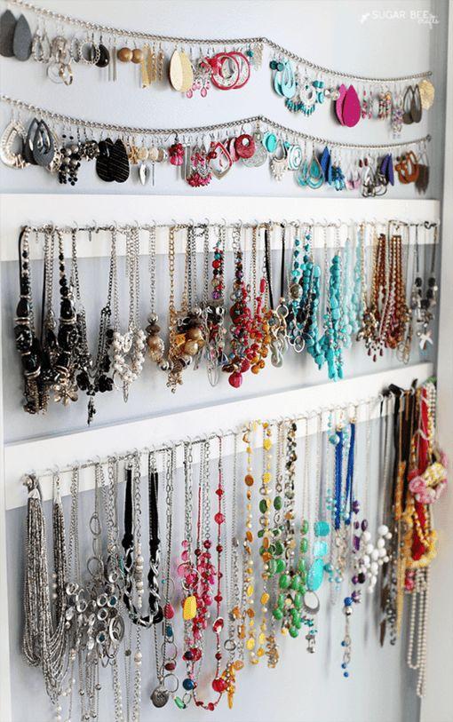 Diy Jewelry Organizers 2 - The 40+ Best DIY Jewelry Organizers