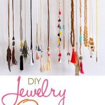 Diy Jewelry Organizers 20 214x214 - The 40+ Best DIY Jewelry Organizers