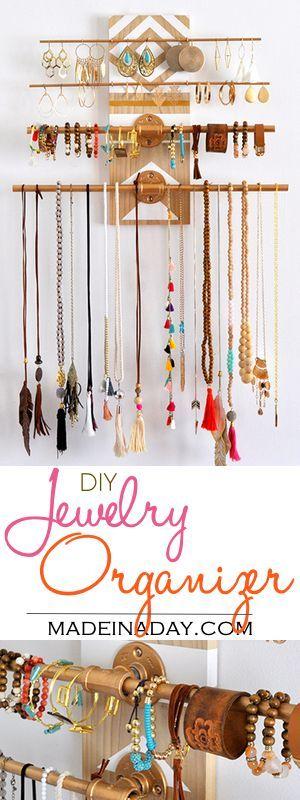 Diy Jewelry Organizers 20 - The 40+ Best DIY Jewelry Organizers