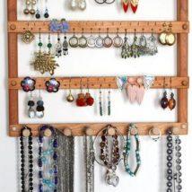 Diy Jewelry Organizers 21 214x214 - The 40+ Best DIY Jewelry Organizers