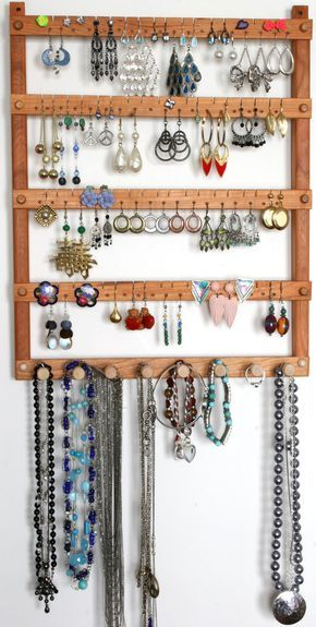 Diy Jewelry Organizers 21 - The 40+ Best DIY Jewelry Organizers