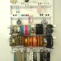 Diy Jewelry Organizers 22 214x214 - The 40+ Best DIY Jewelry Organizers