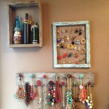 Diy Jewelry Organizers 23 214x214 - The 40+ Best DIY Jewelry Organizers