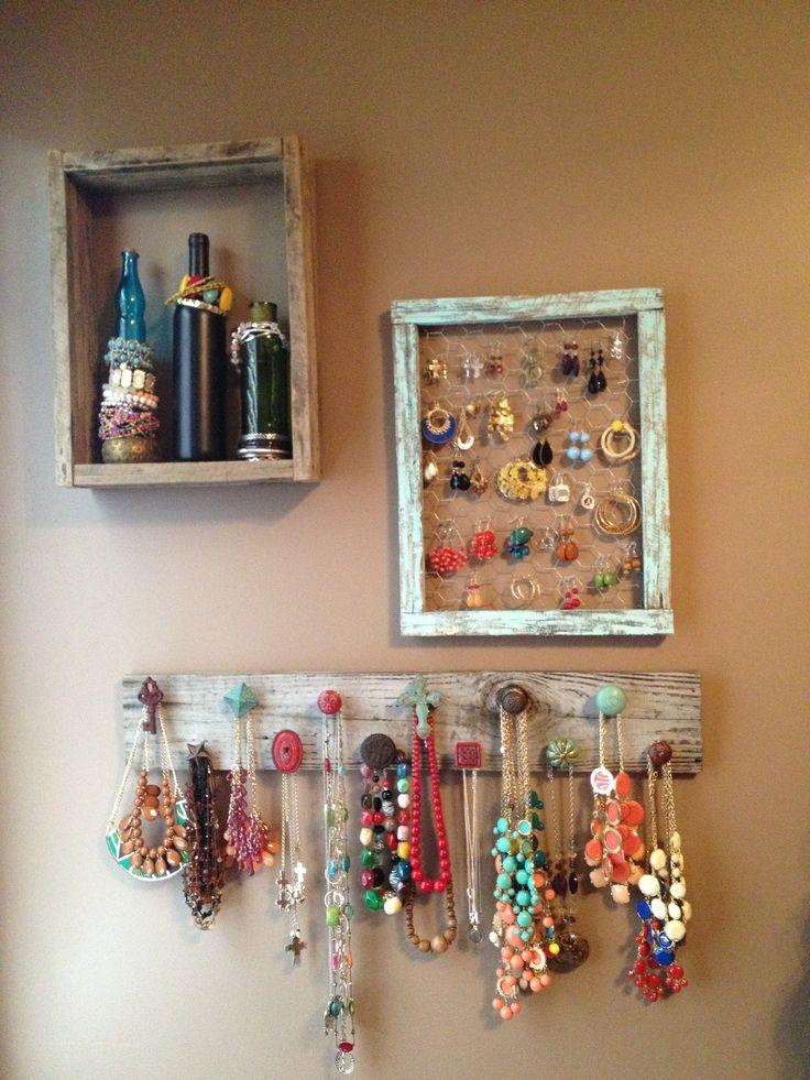 Diy Jewelry Organizers 23 - The 40+ Best DIY Jewelry Organizers