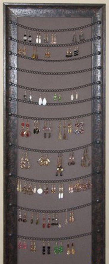 Diy Jewelry Organizers 24 - The 40+ Best DIY Jewelry Organizers