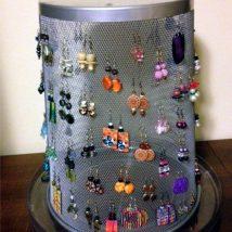 Diy Jewelry Organizers 26 214x214 - The 40+ Best DIY Jewelry Organizers