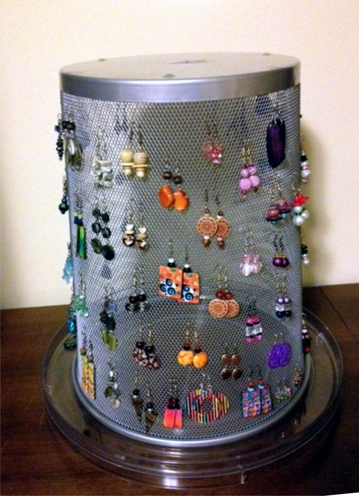 Diy Jewelry Organizers 26 - The 40+ Best DIY Jewelry Organizers