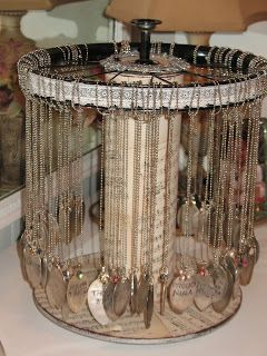 Diy Jewelry Organizers 32 - The 40+ Best DIY Jewelry Organizers