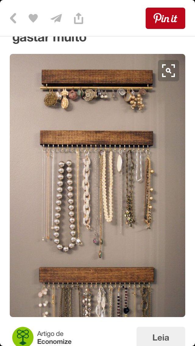 Diy Jewelry Organizers 39 - The 40+ Best DIY Jewelry Organizers