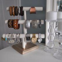 Diy Jewelry Organizers 41 214x214 - The 40+ Best DIY Jewelry Organizers