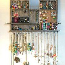 Diy Jewelry Organizers 5 214x214 - The 40+ Best DIY Jewelry Organizers