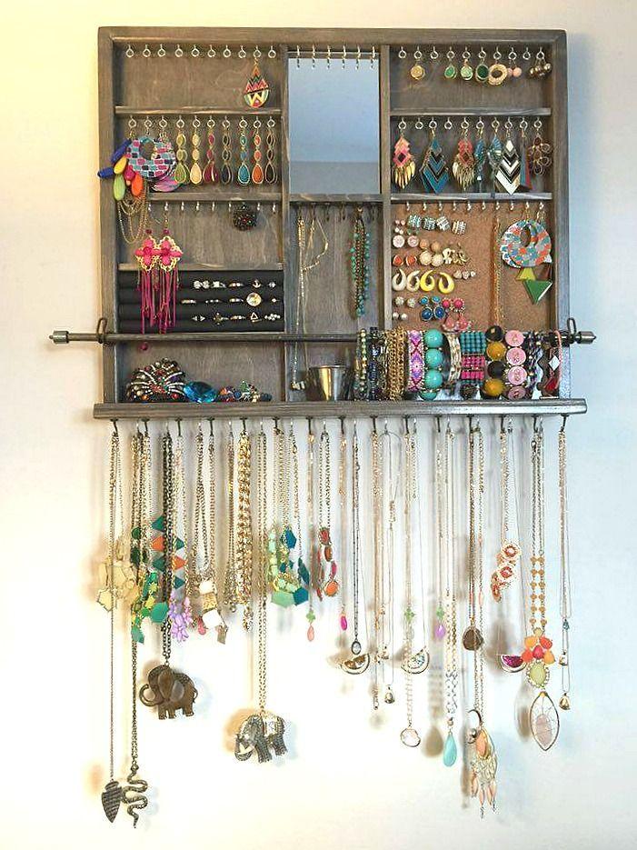 Diy Jewelry Organizers 5 - The 40+ Best DIY Jewelry Organizers