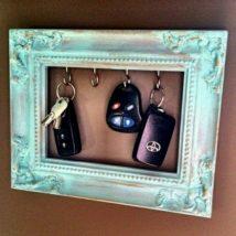 Diy Key Holders 17 214x214 - 40+ The Most Adorable Diy Key Holder ideas