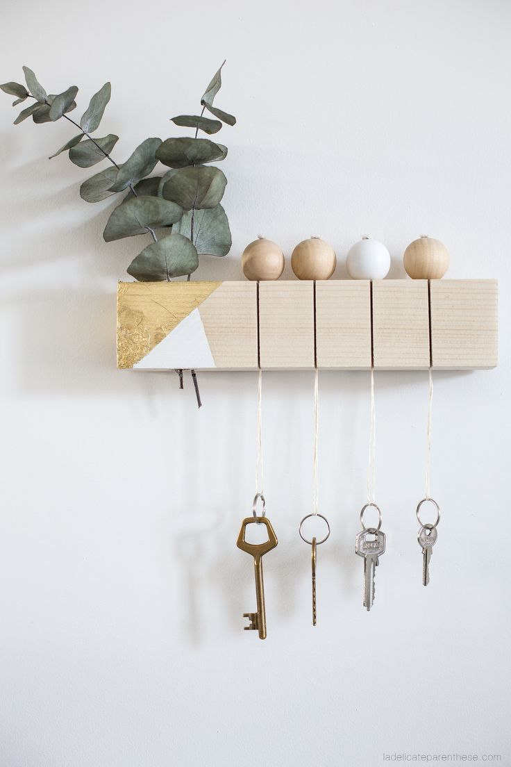 Diy Key Holders 2 - 40+ The Most Adorable Diy Key Holder Ideas