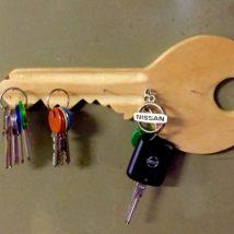 Diy Key Holders 20 214x214 - 40+ The Most Adorable Diy Key Holder ideas