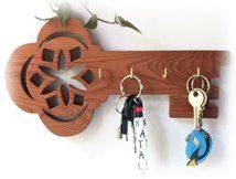Diy Key Holders 21 214x162 - 40+ The Most Adorable Diy Key Holder ideas