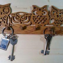 Diy Key Holders 22 214x214 - 40+ The Most Adorable Diy Key Holder ideas