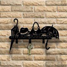 Diy Key Holders 23 214x214 - 40+ The Most Adorable Diy Key Holder ideas