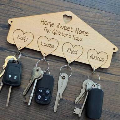 Diy Key Holders 28 - 40+ The Most Adorable Diy Key Holder Ideas