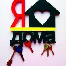Diy Key Holders 35 214x214 - 40+ The Most Adorable Diy Key Holder ideas
