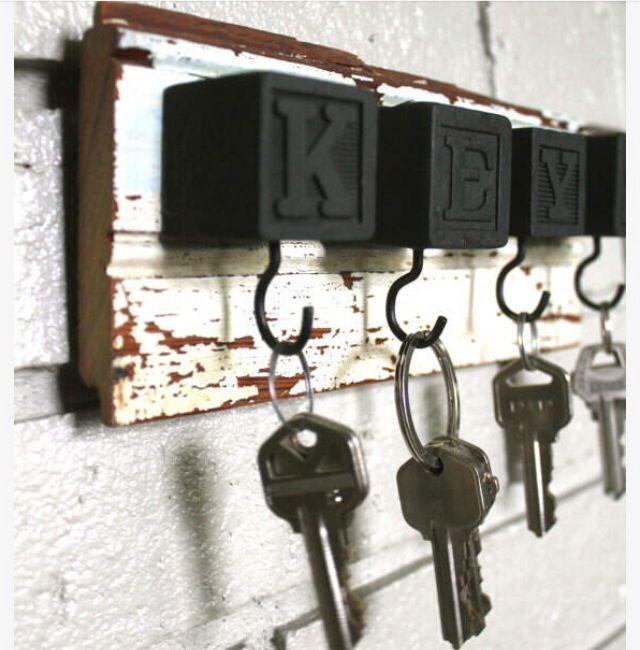Diy Key Holders 7 - 40+ The Most Adorable Diy Key Holder Ideas