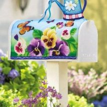 Diy Letter Boxes For Your Home 14 214x214 - 40+ DIY Letter Boxes for Your Home