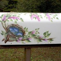 Diy Letter Boxes For Your Home 17 214x214 - 40+ DIY Letter Boxes for Your Home