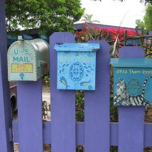 Diy Letter Boxes For Your Home 20 214x214 - 40+ DIY Letter Boxes for Your Home