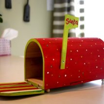 Diy Letter Boxes For Your Home 21 214x214 - 40+ DIY Letter Boxes for Your Home