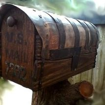 Diy Letter Boxes For Your Home 4 214x214 - 40+ DIY Letter Boxes for Your Home