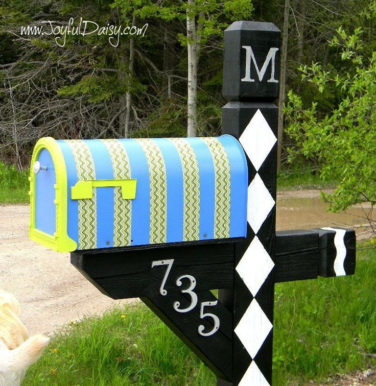 Diy Letter Boxes For Your Home 40 - 40+ DIY Letter Boxes For Your Home