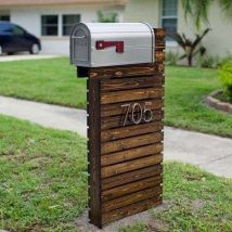 Diy Letter Boxes For Your Home 45 214x214 - 40+ DIY Letter Boxes for Your Home