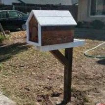 Diy Letter Boxes For Your Home 46 214x214 - 40+ DIY Letter Boxes for Your Home