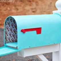 Diy Letter Boxes For Your Home 47 214x214 - 40+ DIY Letter Boxes for Your Home
