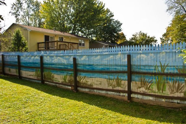Diy Living Fence Art 18 - Heart-Stopping DIY Living Fence Art Ideas