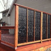 Diy Living Fence Art 42 214x214 - Heart-Stopping DIY Living Fence Art Ideas
