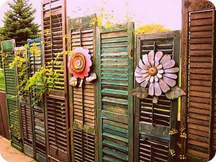 Diy Living Fence Art 43 - Heart-Stopping DIY Living Fence Art Ideas
