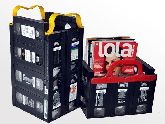 Diy Magazine Holders 19 - 40+ Awesome DIY Magazine Holders